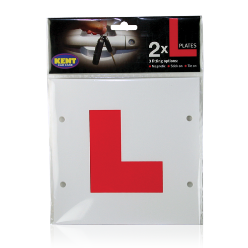 L PLATES- MAGNETIC, STICK ON & TIE ON