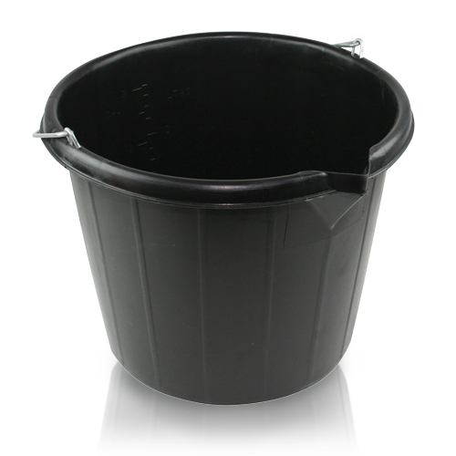 14.5 LITRE BUILDERS HEAVY DUTY BUCKET
