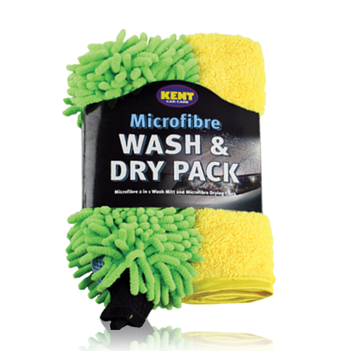 MICROFIBRE WASH & DRY PACK